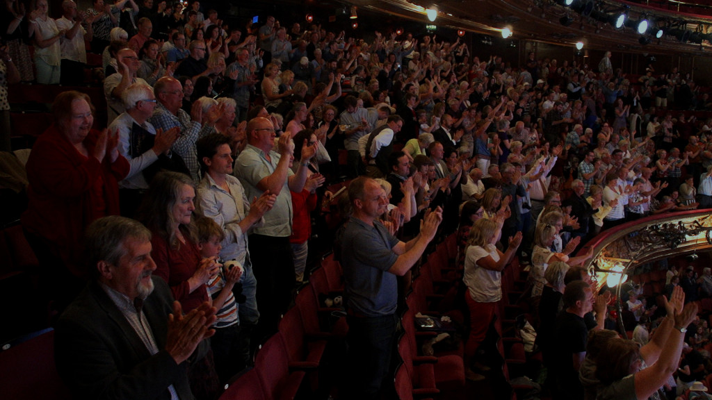The show concludes with a standing ovation at the London Palladium.
